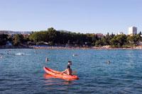 Bacvice Strand in Split