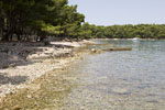 Strand Soline in Vrboska